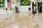 Little Mstr's first 'test' in Capoeira