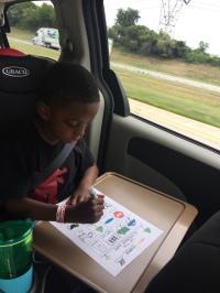 Activity 3 - road trip bingo